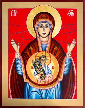 Icons by Marice - Icons of Our Lady, Christ, Saints and Angels to Churches