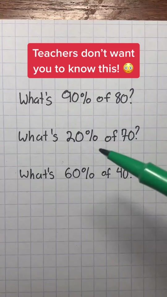 Watch Trending Videos For You Tiktok In 2021 High School Life Hacks Math Lessons Life Hacks For School