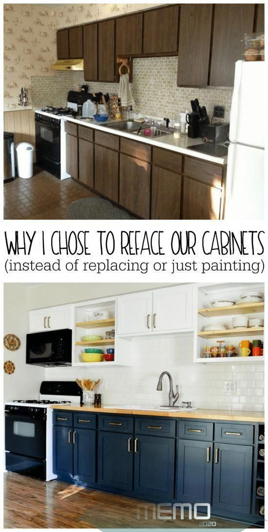 Jan 17 2020 Kitchen Remodels Are Expensive Especially If You Choose To Gut And Replace In 2020 Refacing Kitchen Cabinets New Kitchen Cabinets Diy Kitchen Cabinets