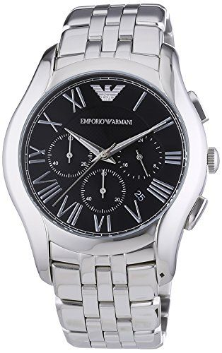 Emporio Armani Herren-Armbanduhr Chronograph Quarz Edelstahl AR1786 - http://uhr.haus/emporio-armani/emporio-armani-herren-armbanduhr-xl-chronograph