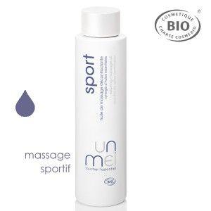 Envie de sculpter votre corps ?  L'Huile de Massage décontractante bio Unmei est idéale pour se préparer à l'effort musculaire ou pour dénouer les muscles endoloris et les articulations rouillées. Elle associe une synergie d'huiles essentielles bio à une base composée des huiles végétales bio. Huile de Massage décontractante bio Unmei. Flacon 200ml bouchon twist. 19€ #massage #aromatherapie #relaxation #unmei #cosmebio #ecocert #bio #naturel www.officina-paris.fr