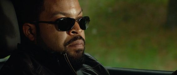 Ray-Ban RB8301 sunglasses worn by Ice Cube in RIDE ALONG (2013) @Ray-Ban
