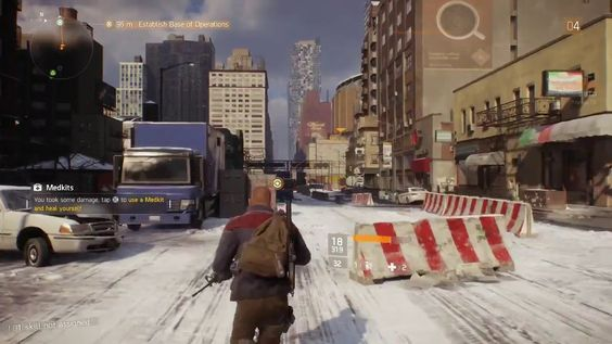 Tom Clancy's The Division Beta First Look Xbox One #xbox #mmo #videogame