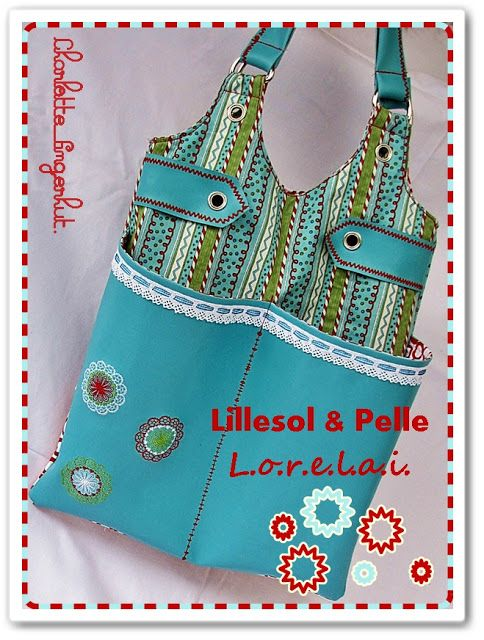 lillesol Schnittmuster/ Pattern: Lorelai