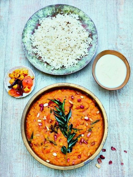 Our recipe column is back and we're kicking things off with this delicious Gujarati Dal with Peanuts & Star Anise recipe from chef Meera Sodha's latest book, Fresh India, perfect for autumn