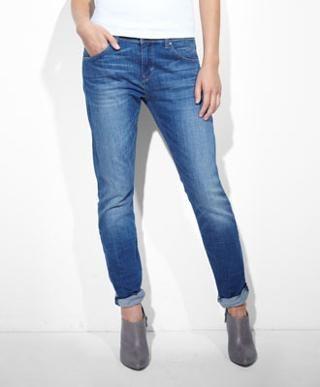 Levi's Boyfriend Skinny Jeans - Whitened Indigo - Skinny