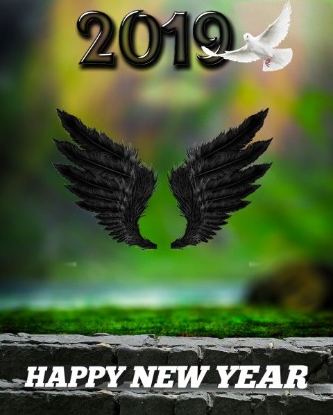 Happy New Year Editing Background 97