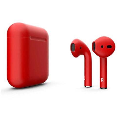 Litbest New I12 Blackpods Redpods Tws True Wireless Earbuds Matt Skin Bluetooth 5 0 Headphone Pop Up For Ios With Microphone Hands Earphone Headphones Earbuds