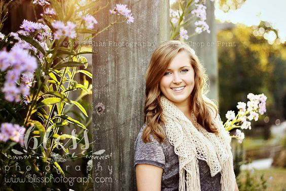 Gorgeous senior photo -- Bliss Photography - NC Portrait Photographer for Newborn, Baby, Child, Seniors, and Family