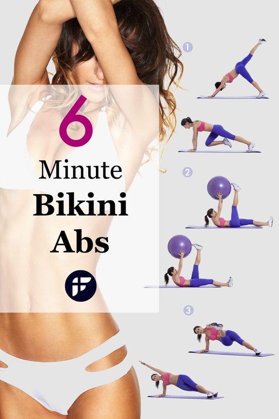 Bikini body in four weeks