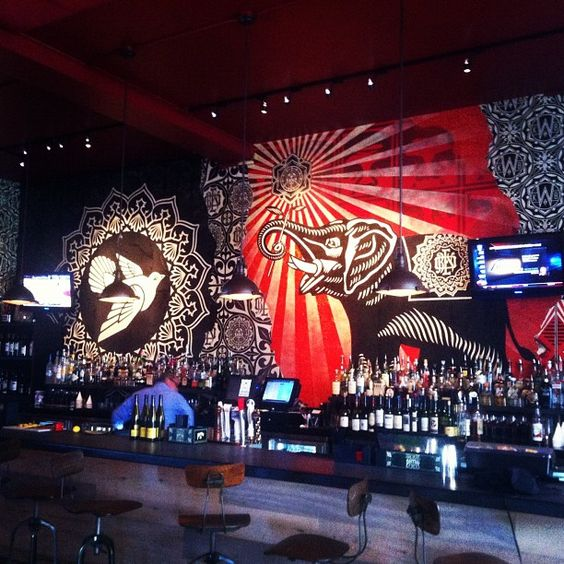 Pin by jeff adams on ha coffee bar ideas pinterest for Mural restaurant