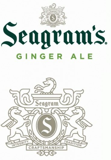 Seagram's Gingerly New Look