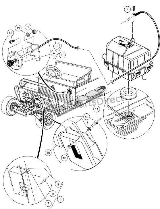 2009 club car precedent battery wiring diagram images cart on 1999 club car wiring diagram