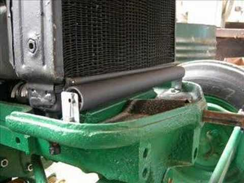 Zetor 25, sistema di raffreddamento
