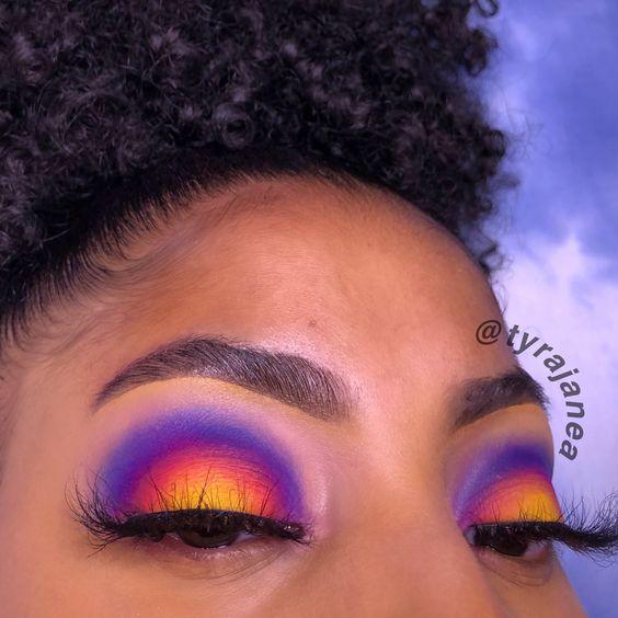 trucco multicolor