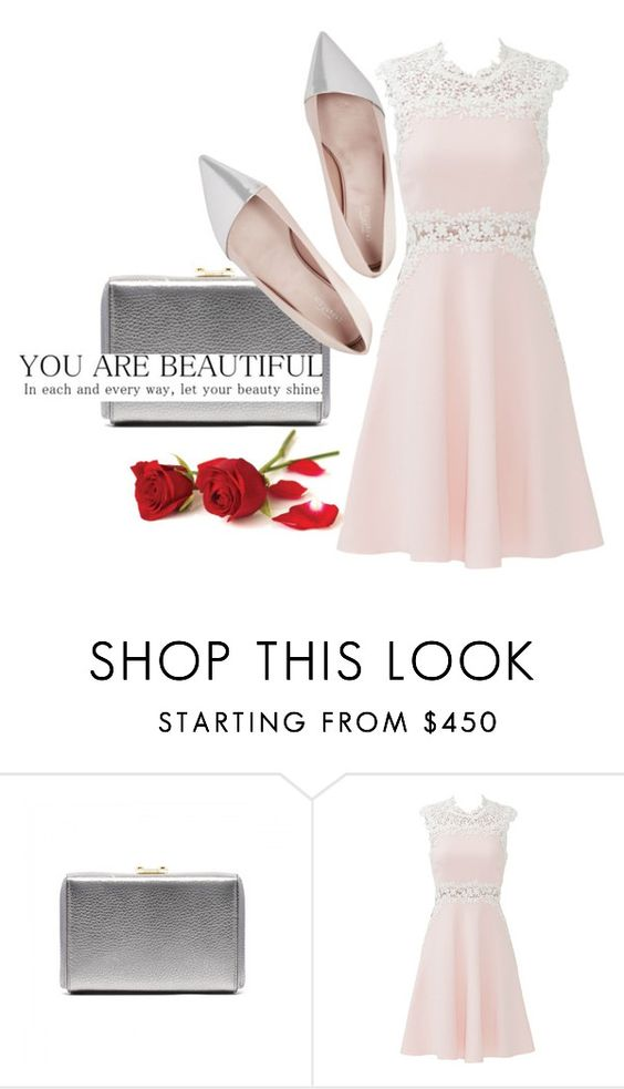 """Untitled #2972"" by mariaisabel701 ❤ liked on Polyvore featuring Giambattista Valli, women's clothing, women's fashion, women, female, woman, misses and juniors"