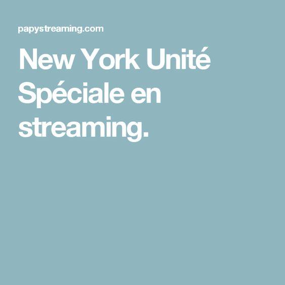 New York Unité Spéciale en streaming.