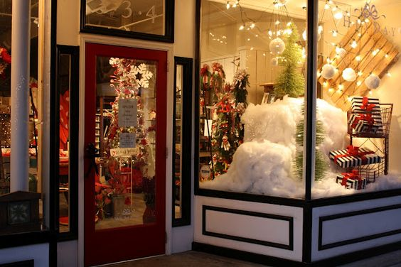 Great window display for the holidays