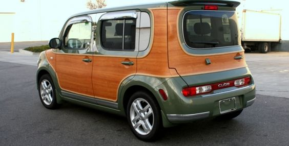 Nissan Cube Woody Customization Nissan Hot Rods Cars Muscle Cube