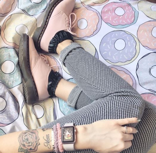 Docs and Socks: Vintage 1461 shoes, shared by Camille_Prz.