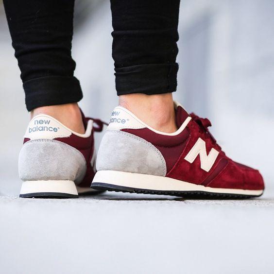 New Balance Dark Red U420