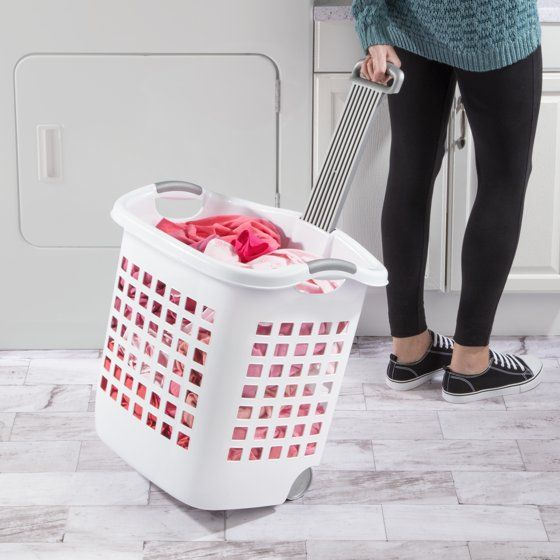 The Best Combination Of A Laundry Basket And Hamper Sterilite
