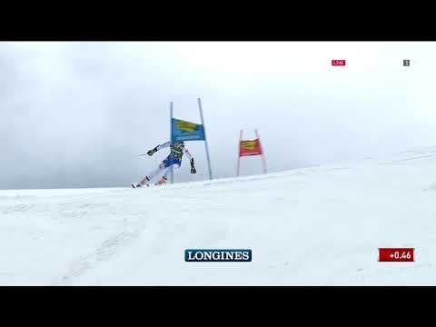 Petra Vlhova 1st Run Gs Wc Semmering Youtube Youtube Sports Longines