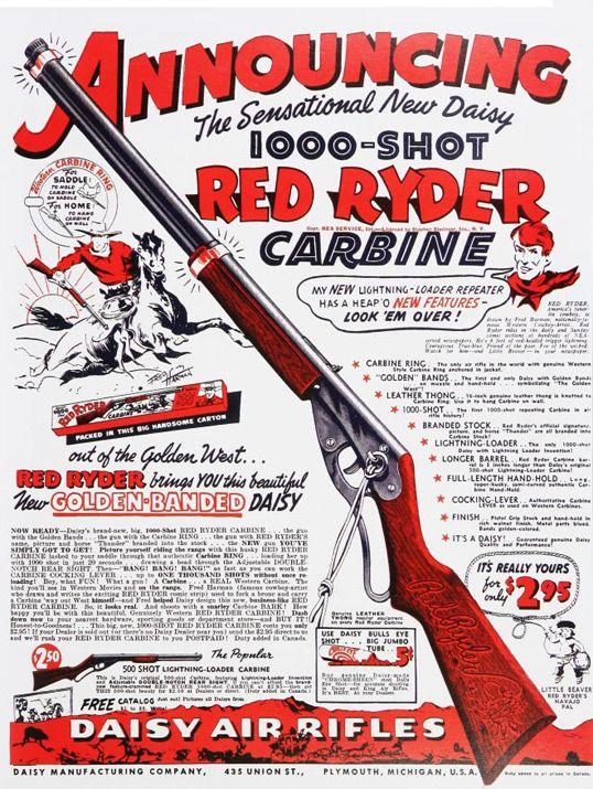 Daisy 1938 Red Ryder BB gun. Air rifles - http://www.pyramydair ...
