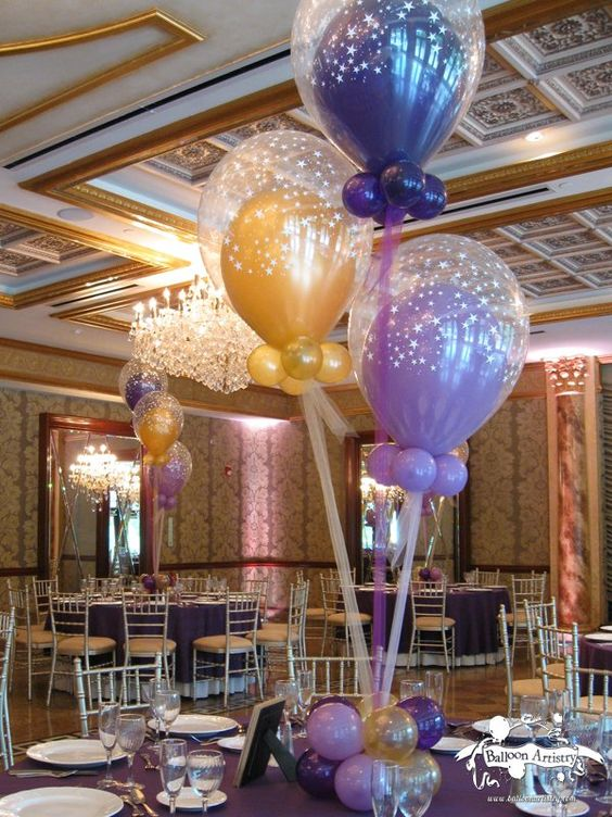 Gold balloons purple and galleries on pinterest