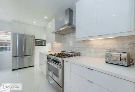 Awesome White Flat Panel Kitchen Cabinets Home Decor Ideas