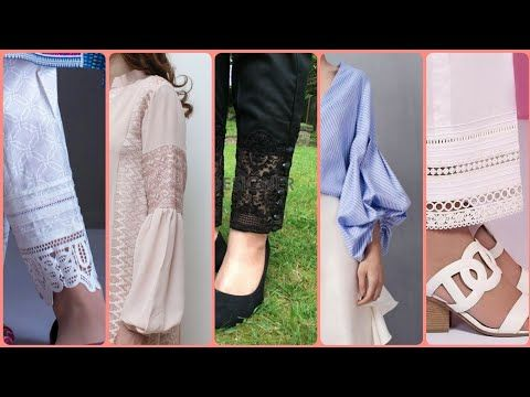 Top New Trendy Sleeves And Trousers Designs For Casual Dresses