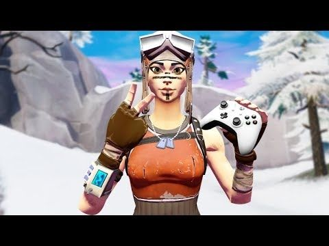 Tsuki Fortnite Skin Thumbnail Meet The Best Renegade Raider On Xbox Youtube In 2020 Fortnite Renegade Raiders
