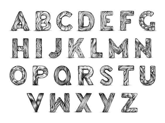 Typeverything.com - Organic alphabet by Bart Vollebregt.