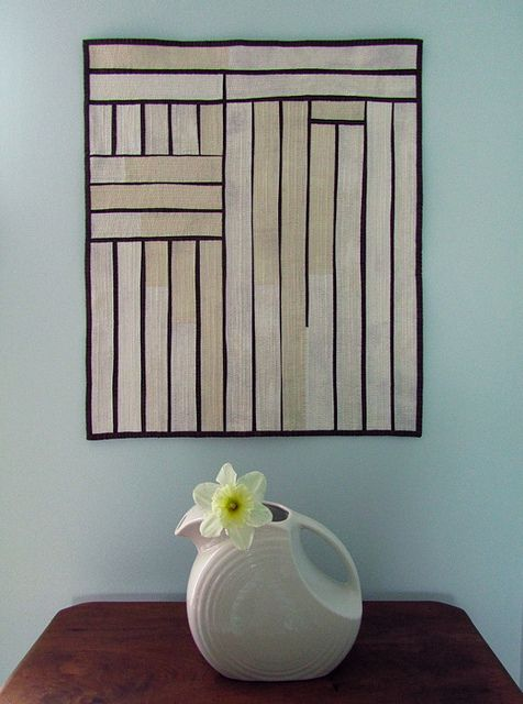 Barn Door Modern Improvised Art Quilt Flickr Photo Sharing