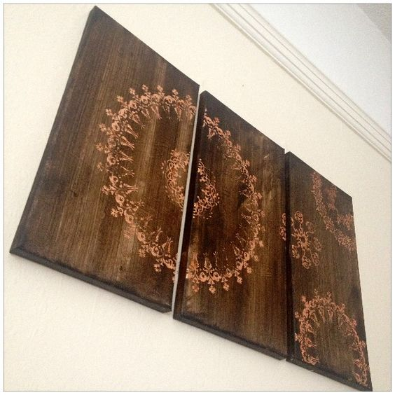 Canvas Creations - A Simple Home Decor Idea