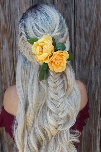 Blossom Flowers Braids Styles Ideas 2019