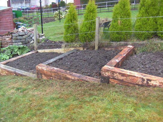 Simple Useful For A Sloped Yard Raisedgardenbeds Sloped Garden Landscaping On A Hill Raised Vegetable Gardens
