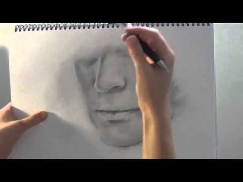 Akiane art tutorial Drawing a Man's Face - Tutorial #2. To see Akiane's amazing art and to learn about her story visit art-soulworks.com