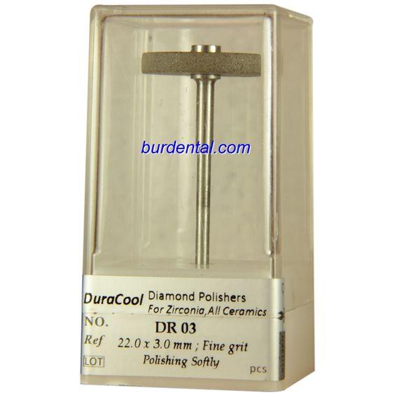Fine Grit Wheel Shape HP Shank Diamond Polisher (DR03)