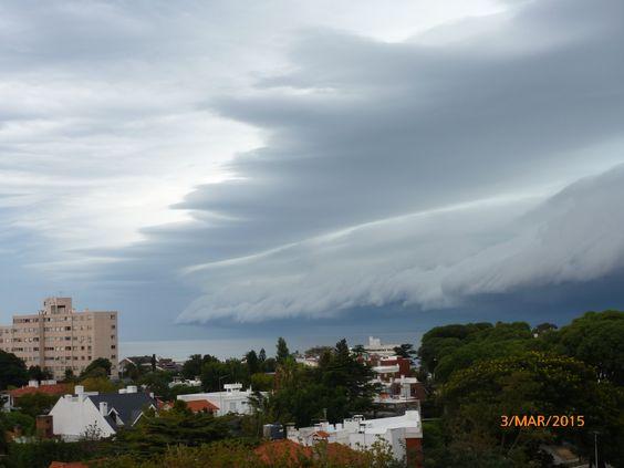 tormenta en Montevideo