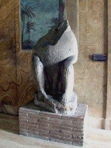 Statue des Thoth, der sogenannte Cacco von Santo Stefano del Cacco, heute im Vatikanischen Museum