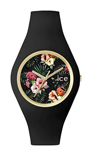 ICE-Watch - ICE.FL.COL.U.S.15 - Ice Flower - Colonial - Montre Femme - Quartz Analogique - Cadran Noir - Bracelet Silicone Noir ICE-Watch http://www.amazon.fr/dp/B00VMB68JS/ref=cm_sw_r_pi_dp_0LrZvb0NBRGF7