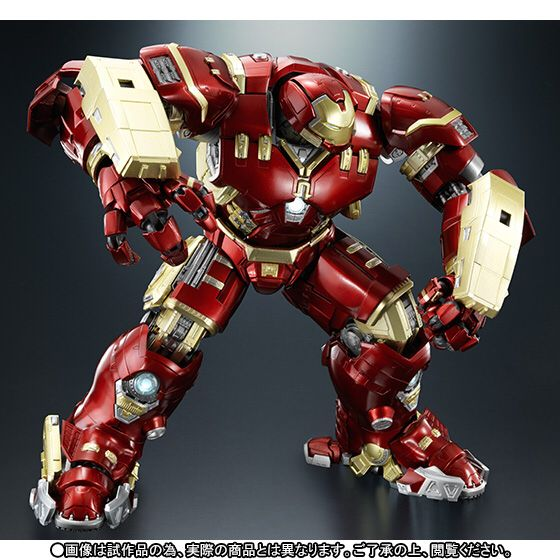 超合金×S.H.Figuarts アイアンマン マーク44 ハルクバスター (10)