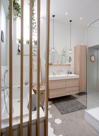 Le Claustra S Invite Dans Nos Interieurs Idee Salle De Bain