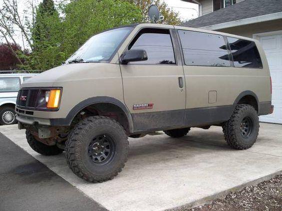 Mudder Van On Portland Craigslist Chevy Astro Van Astro Van