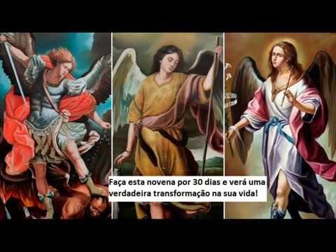 Arcanjos Gabriel Rafael E Miguel Trintena Youtube Em 2020