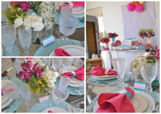 Quer reunir as amigas antes de casar? Ideias cheias de flores e cores para fazer uma festa de despedida de solteira inesquecível entre amigas.