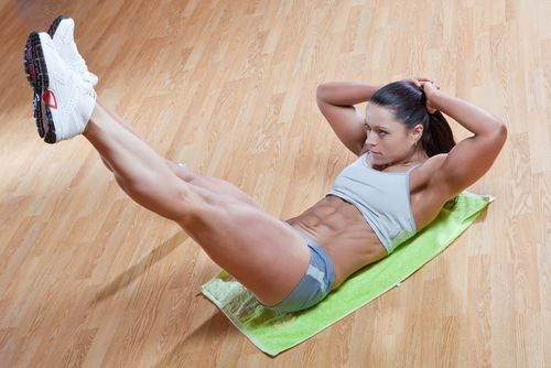 7 Day Ab Challenge. This makes for a super tough workout week, and produces results.