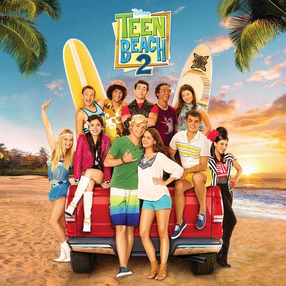 Teen Beach Movie 2. Bron: Pinterest/Spotify