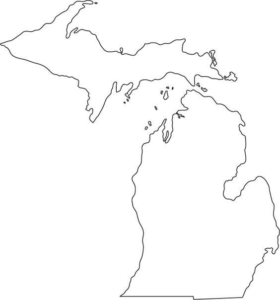 michigan map tattoos – Usa in World Map